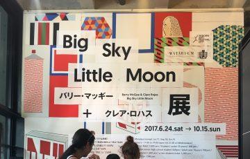 クレア・ロハス+バリー・マッギー展「Big Sky little moon」