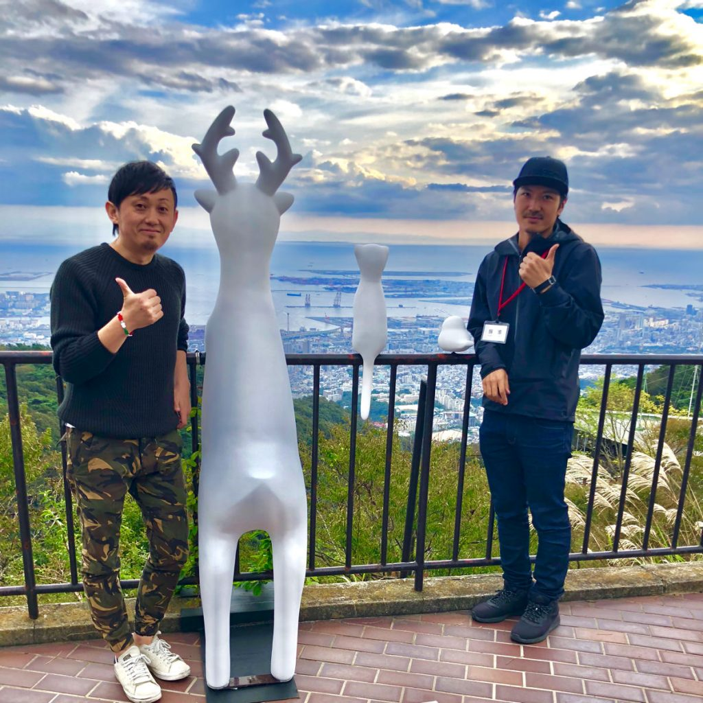六甲ミーツ・アート2018笠井祐輔《動物たちも景色を見ている》