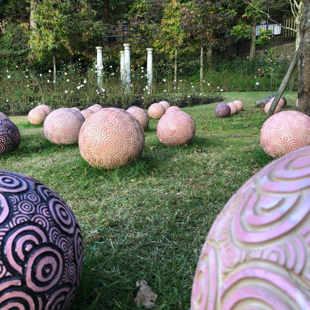 六甲ミーツ・アート2018平井里奈《陶の庭》