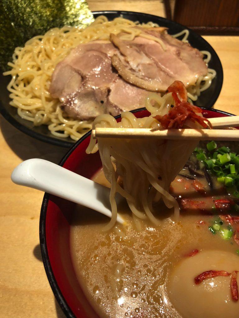 海老吟醸じぱんぐ上野駅前店ラーメンつけ麺