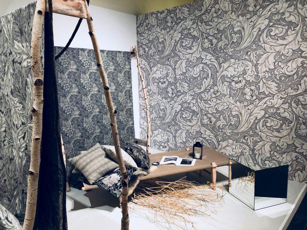ウィリアム・モリスと英国の壁紙展