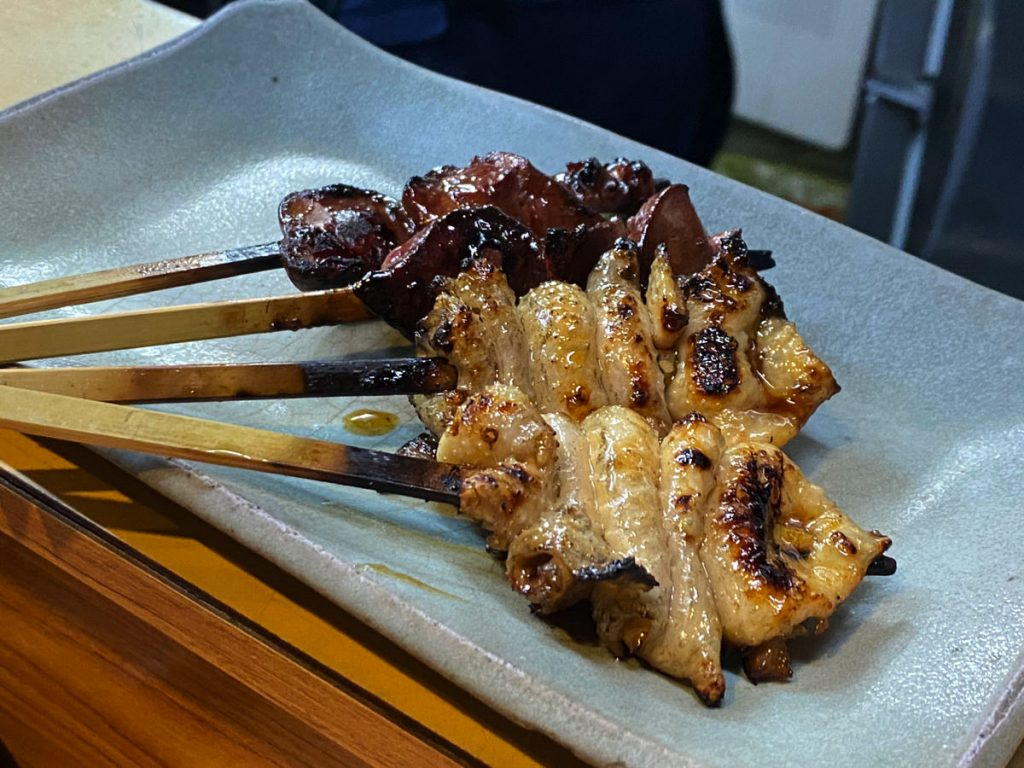 やきとり 万亀 名古屋伏見の美味しい焼き鳥屋